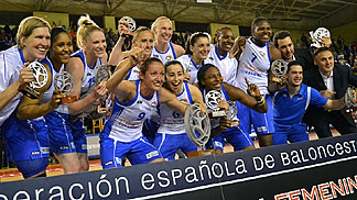 Ros Casares win the Spanish Championship