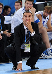 Italy head coach Simone Pianigiani