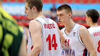 Stefan Lazarevic (Serbia), Vasilije Vucetic (Serbia)
