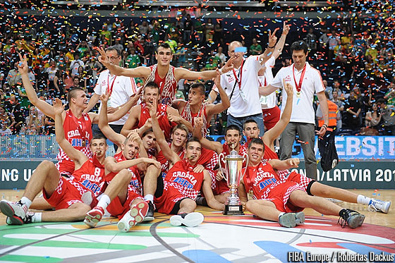 Gold Medalists Croatia