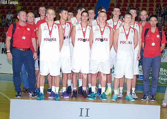 Silver medal winners Poland