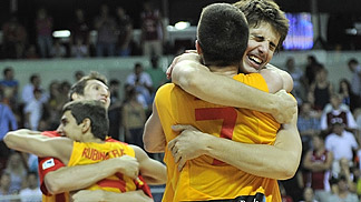 Spain clinch the bronze medal at the U18 European Championship