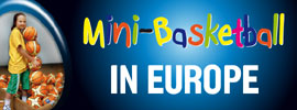 Youth webpage banner: mini-basketball