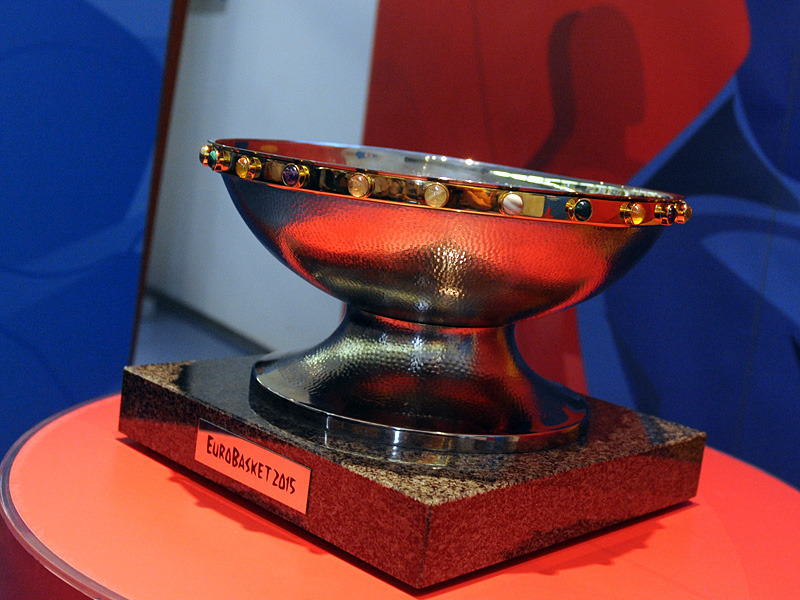 EuroBasket 2015 Trophy Tour stop in Zagreb, 7 June 2015