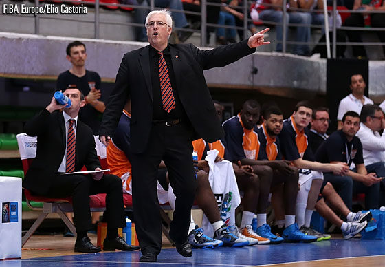 Gravelines Dunkerque head coach Christian Monschau