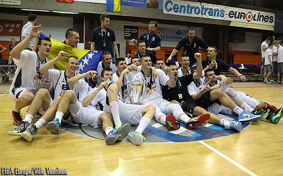 2014 U20 Men Champions: Bosnia and Herzegovina