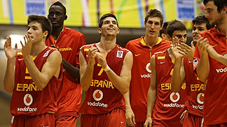 Spain's win over Turkey sees them through to the quarter-finals